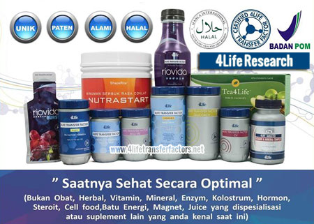 produk 4life transfer factor