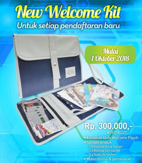 welcome kit terbaru