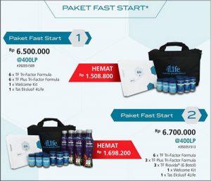 paket fast start pendaftaran member 4life