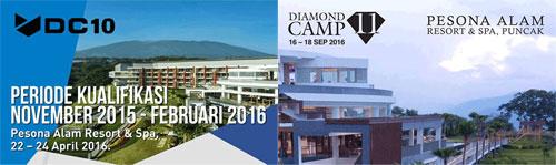 perhitungan bonus pelatihan diamond camp 4life indonesia