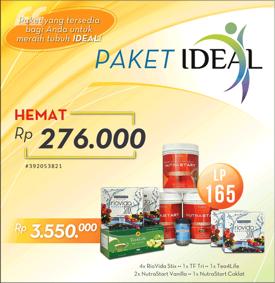 paket diet ideal 4life transfer factor indonesia