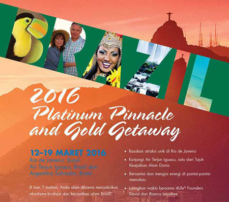 bonus gold gateway platinum pinnacle liburan gratis 4life indonesia 4lifetransferfactorsNet