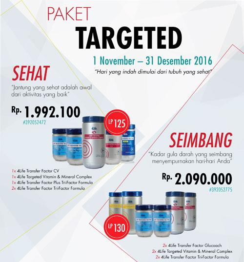 paket promo targeted 4life
