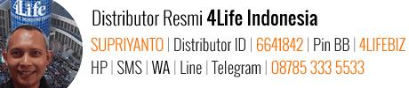 supriyanto distributor 4life indonesia