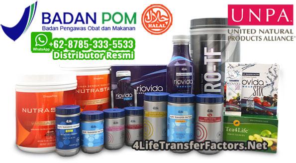 produk 4life transfer factor halal bpom pdr