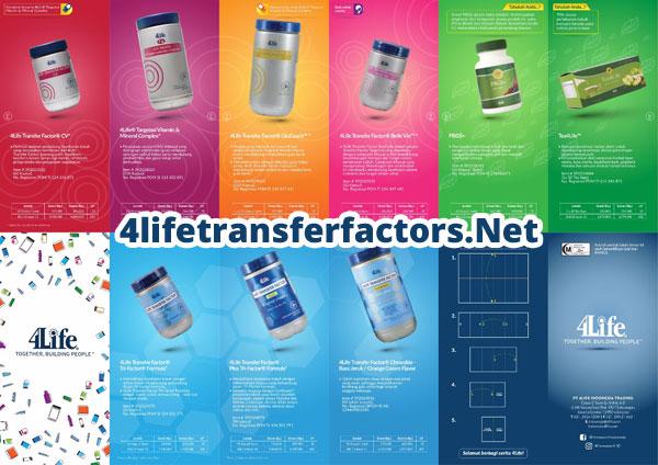 katalog produk 4life transfer factor